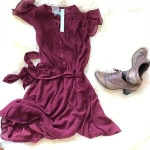 She & Sky Plum Dress